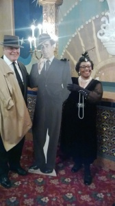 Greta, Bogart and Friend at Casablanca Screening